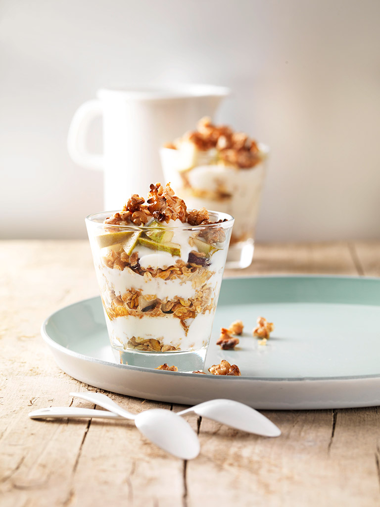 Pear trifle