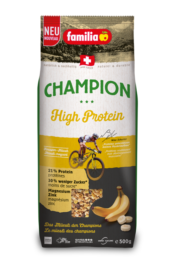familia Champion High Protein 500g