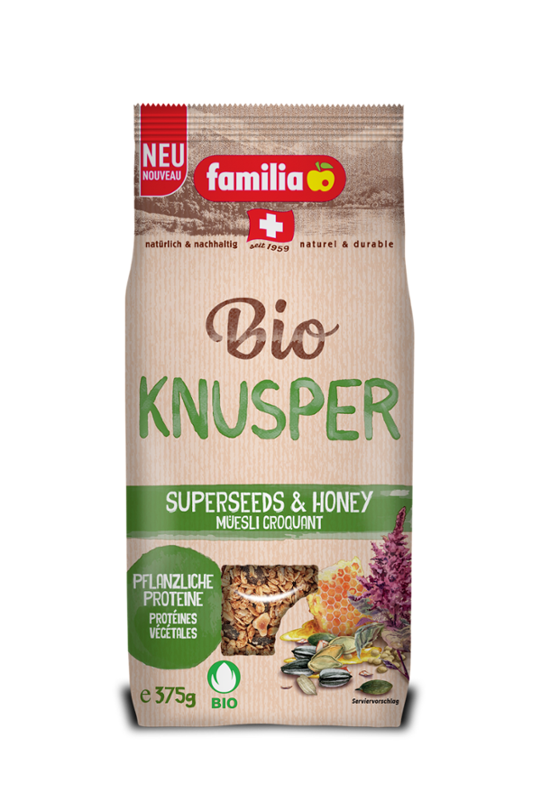 familia Bio Knusper Superseeds & Honey