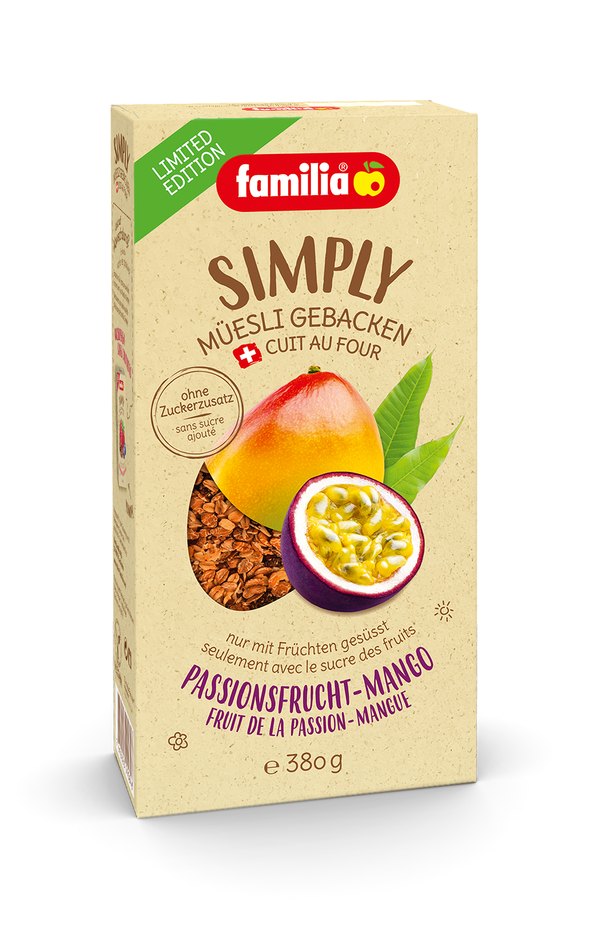 familia Simply Fruit de la Passion-Mangue